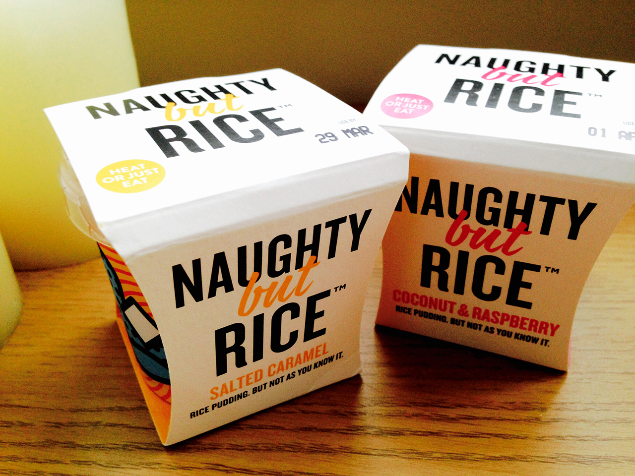 Naughty but Rice